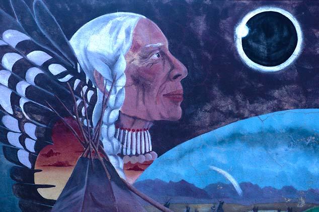indian art montana