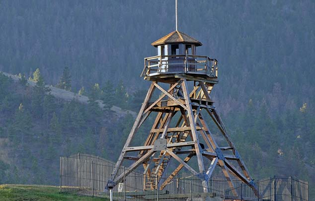 forest fire lookout montana