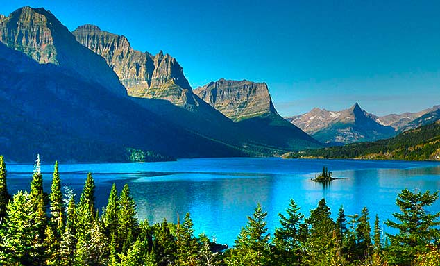 st. mary's lake montana