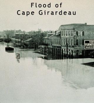 Flood at Cape Girardeau