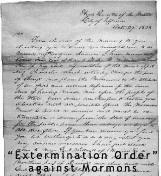 Mormon Extermination