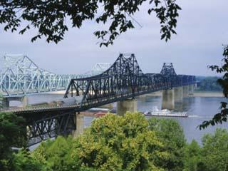 Mississippi River, Vicksburg, Mississippi, USA