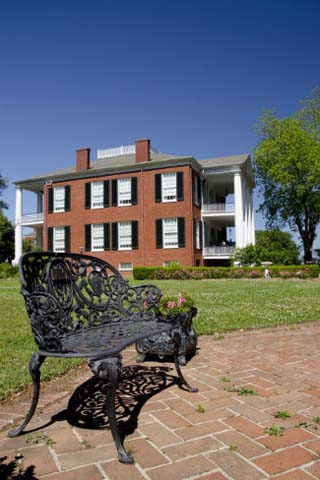 Spring Pilgrimage, 'Rosalie' House, 1820, Union Headquarters, Natchez, Mississippi, USA