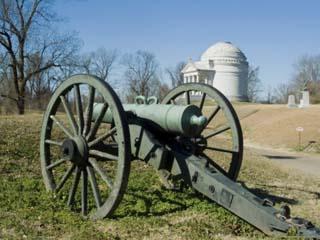 Vicksburg Battlefield, Mississippi, USA