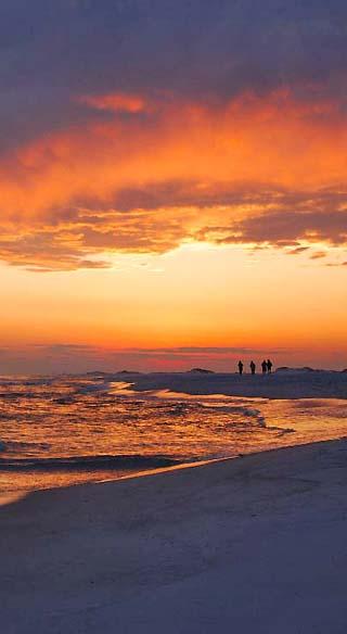 mississippi gulf coast sunset