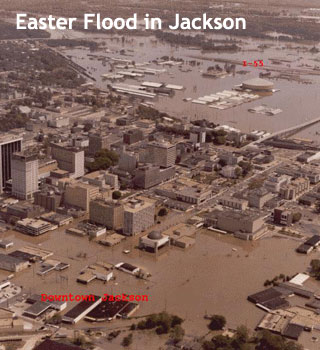 Easter Flood in Jackson