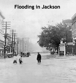 Flooding in Jackson