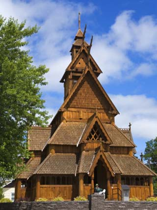 Scandinavian Heritage Park, Minot, North Dakota, United States of America, North America