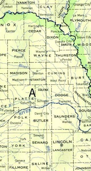 nebraska maps