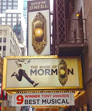 book of morman new york city