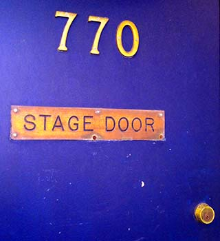 stage door new york