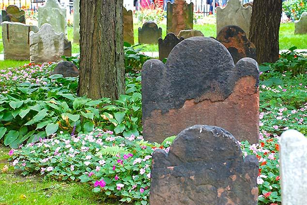 grave stones new york city