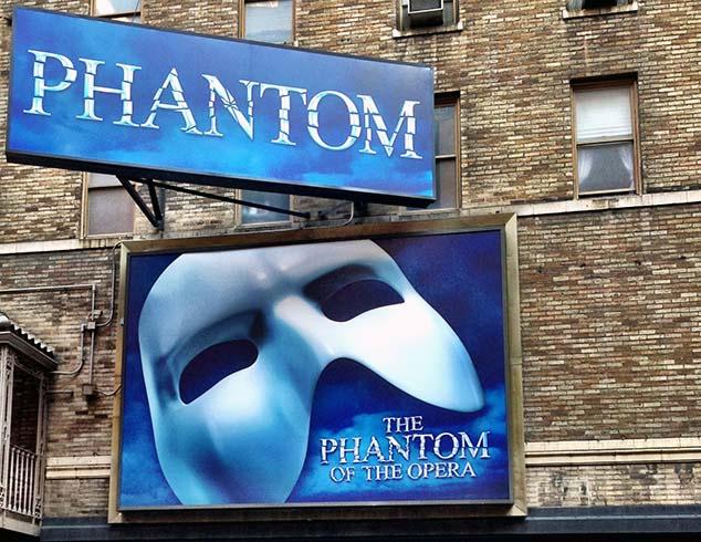 phantom of the opera new york