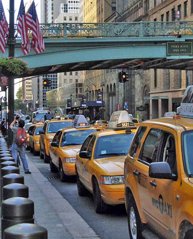 taxis new york city