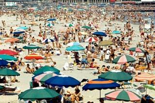 Atlantic City Beach Archival Photo Poster Print