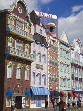 Bally's Casino and Hotel, Atlantic City Boardwalk, New Jersey
