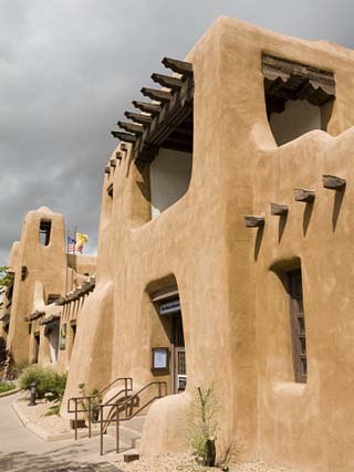 New Mexico Museum of Art, Santa Fe, New Mexico, United States of America, North America