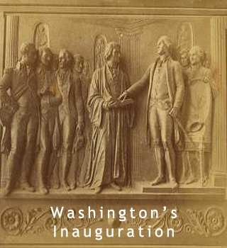 Washington's innaugration