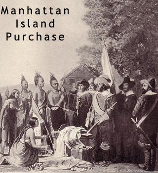 Manhattan Island Purchase