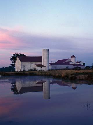 Century Farm at Dusk, Hamilton, Ohio