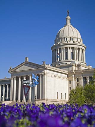 State Capitol Building, Oklahoma City, Oklahoma, United States of America, North America