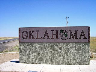 oklahoma sign