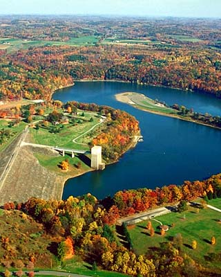 crooked creek lake and dam