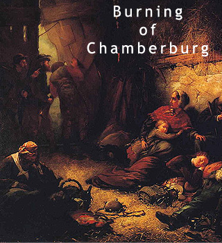 Burning of Chamberburg