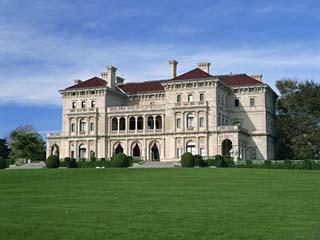Breakers, Built in 1895 for Cornelius Vanderbilt, Newport, Rhode Island, New England, USA