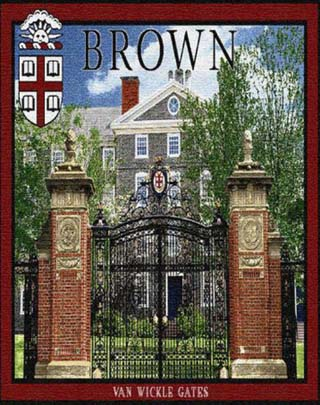 Brown University, Van Wickles Memorial Gate