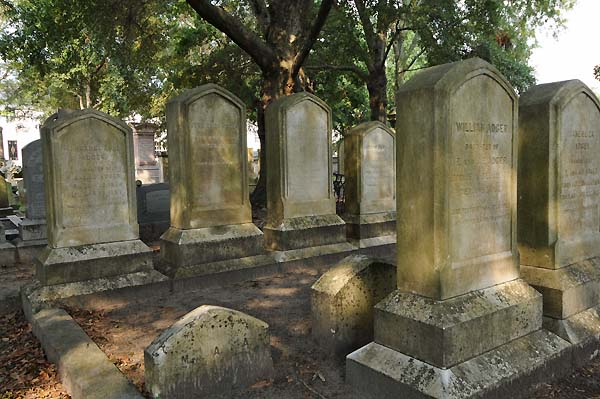 gravestones charleston south carolina