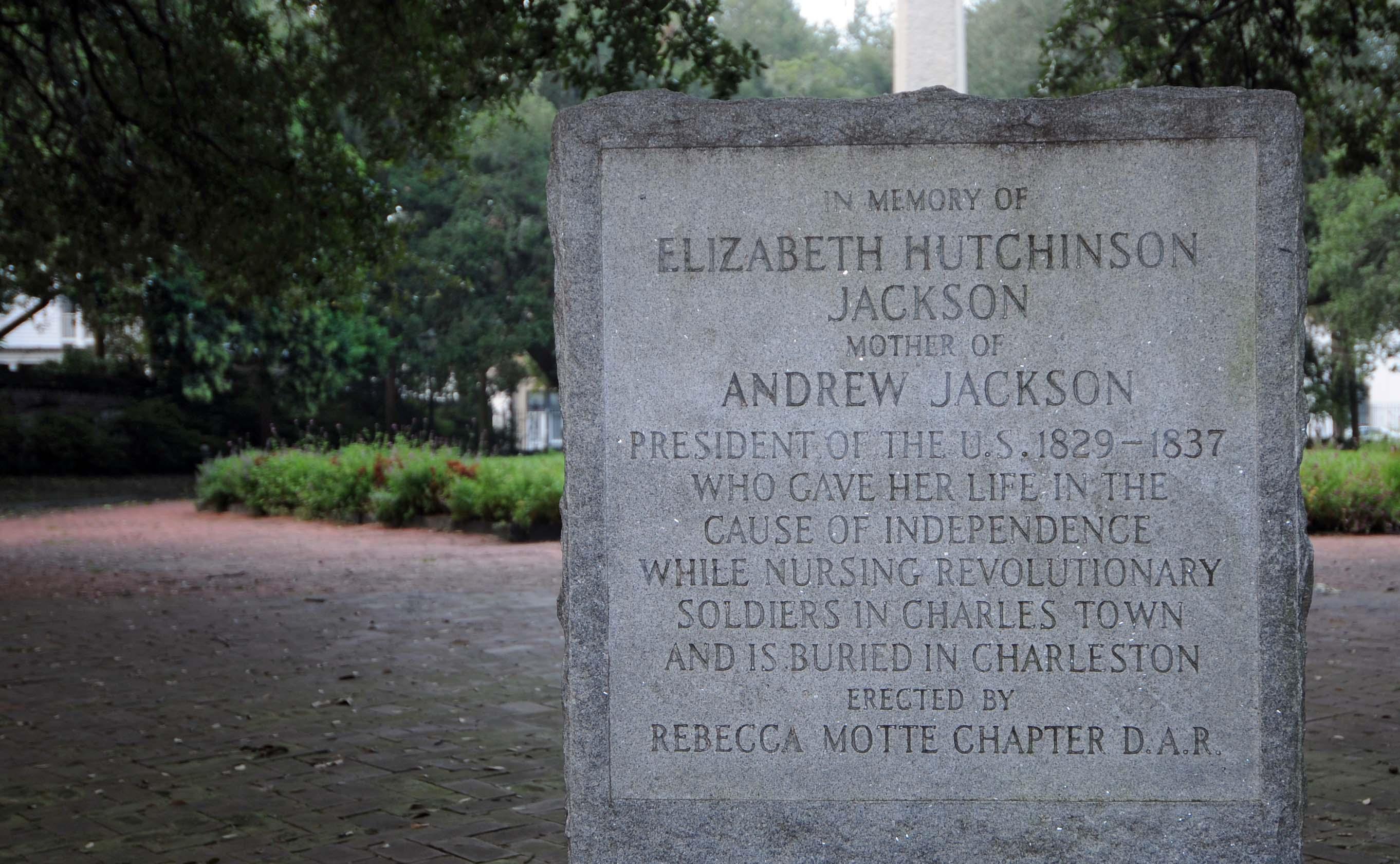president jackson charleston south carolina