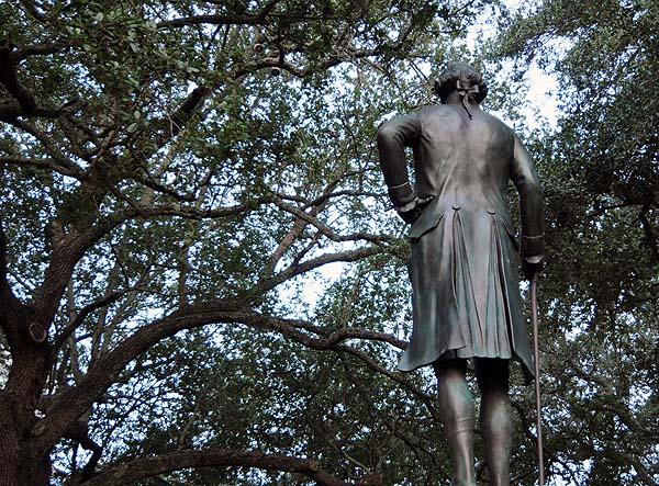 george washington statue charleston south carolina