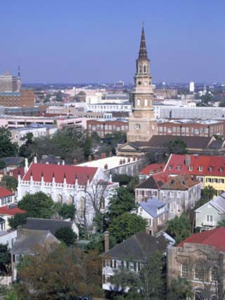 View of Historic District, Charleston, SC