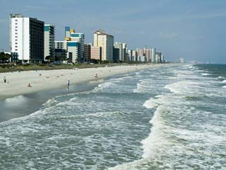 Seashore, Myrtle Beach, South Carolina, USA