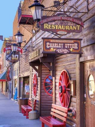 Main Street, Deadwood, South Dakota, USA