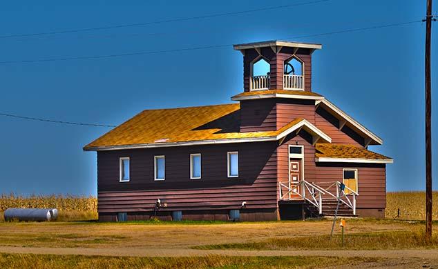 rural school house south dakota