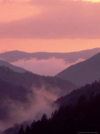 Sunset after Rain, Great Smoky Mountains National Park, Tennessee
