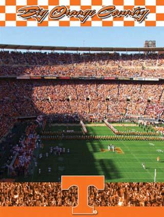 University of Tennessee-Stadium Shot