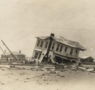 galveston hurricane damage