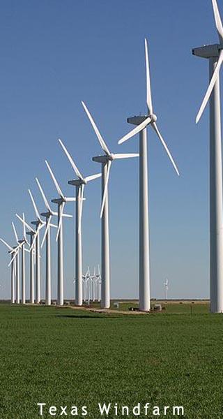 texas windfarm