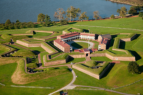 Fort McHenry, Inspiration for the US National Anthem