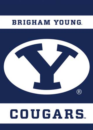 NCAA Brigham Young Cougars 2-Sided Garden Flag