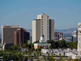 Utah State Capitol Building, Salt Lake City Council Hall, Salt Lake City, Utah, USA