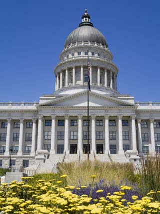 State Capitol Building, Salt Lake City, Utah, United States of America, North America