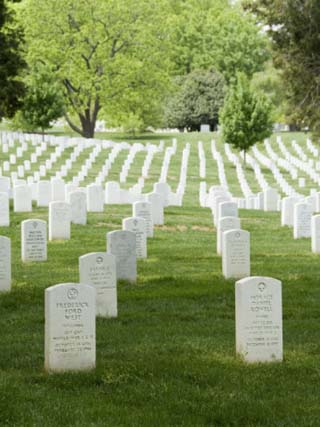 Arlington National Cemetery, Arlington, Virginia, United States of America, North America