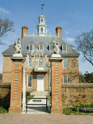 Governor's Palace, Williamsburg, Virginia, USA