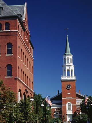 Church Street Marketplace, Burlington, Vermont, USA