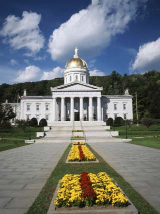 State Capitol Building, Montpelier, Vermont, USA