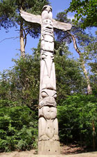 totem pole, washington